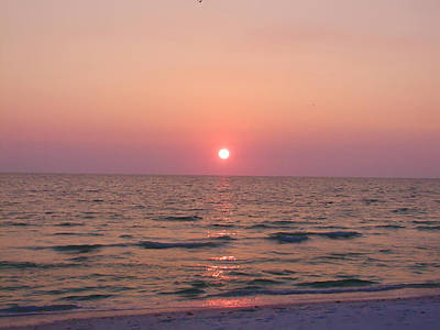 Sunset Greetings Photograph - Clearwater Sunset by Bill Cannon