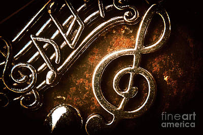 Jazz Royalty-Free and Rights-Managed Images - Clef concert by Jorgo Photography - Wall Art Gallery