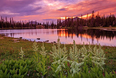 Photograph - Clegg Lake by Johnny Adolphson