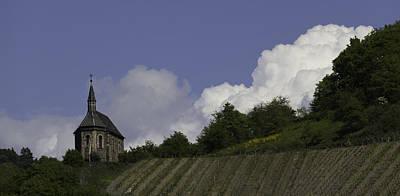 Landscape Photograph - Clemenskapelle 03 by Teresa Mucha