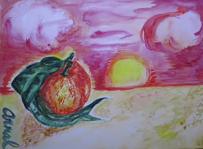 Positive Attitude Painting - Clementine 52 by Lm Arnal