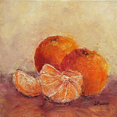 Painting - Clementines by Jill Musser