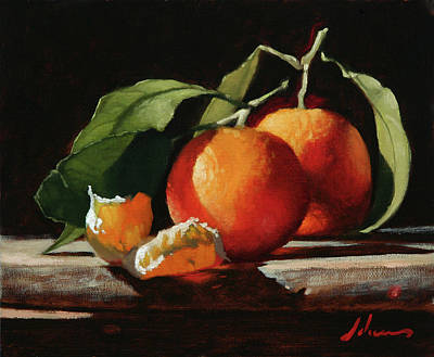 Painting - Clementines by Michael Lynn Adams