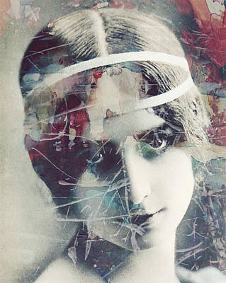 Manipulation Painting - Cleo De Merode by Paul Lovering
