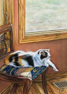 Painting - Cleo In The Sun by Laurie Tietjen