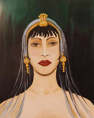 Cleo Art Print by Leah Saulnier The Painting Maniac