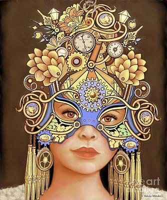 Digital Art - Cleo by Melodye Whitaker