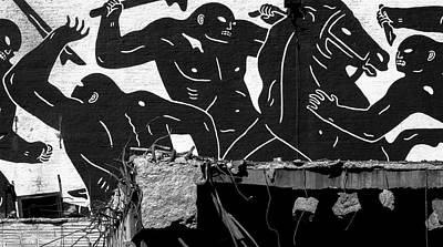 Photograph - Cleon Peterson The Provocateurs Dsc0588 by Raymond Kunst