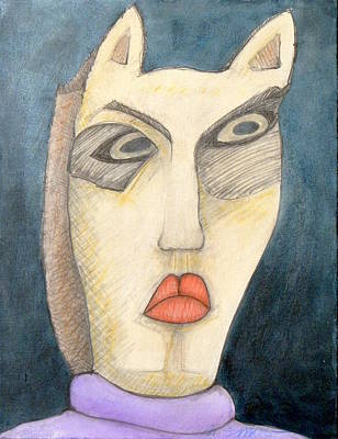Abstract Animalia - Cleopat by Michael Sharber