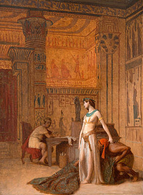 Jean-leon Gerome Painting - Cleopatra And Caesar by Jean-Leon Gerome