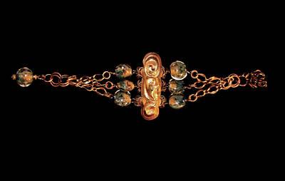 Lampwork Bracelet Jewelry - Cleopatra by Denise Temofeew
