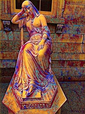 Mixed Media -  Cleopatra At The Met by Femina Photo Art By Maggie