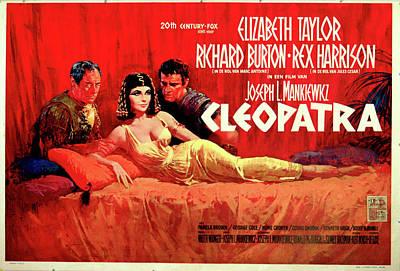 Elizabeth Taylor Digital Art - Cleopatra by Movieworld Posters