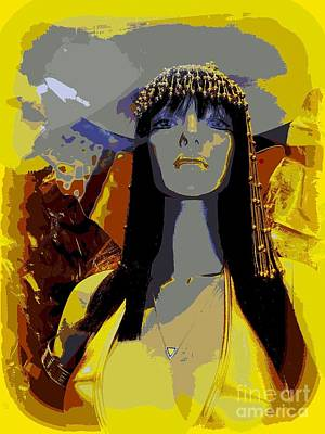 Digital Art - Cleopatra Style by Ed Weidman