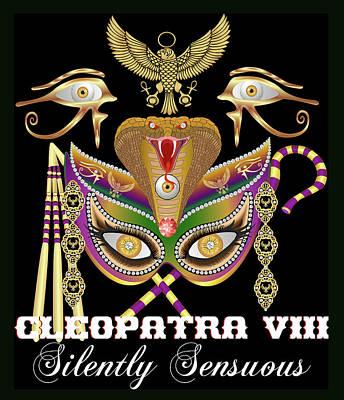 Viper Mixed Media - Cleopatra Viii  by Bill Campitelle
