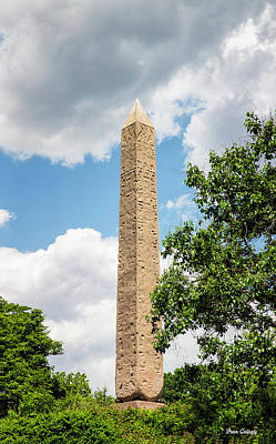 Photograph - Cleopatra's Needle by Fran Gallogly