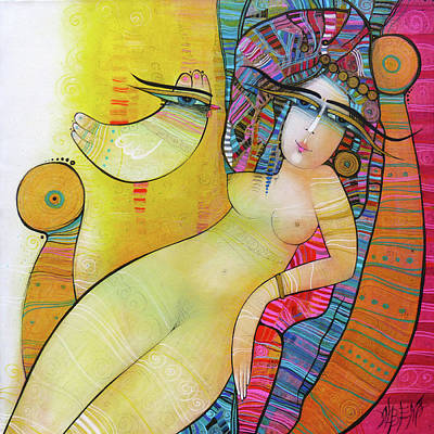 Wall Art - Painting - Cleopatre by Albena Vatcheva