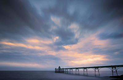 Photograph - Clevedon Pier by Dominique Dubied