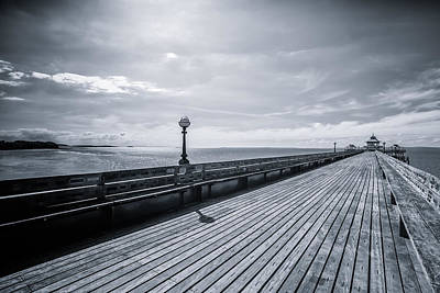 Photograph - Clevedon Pier by Stewart Scott