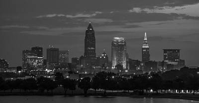 Cleveland After Dark Art Print