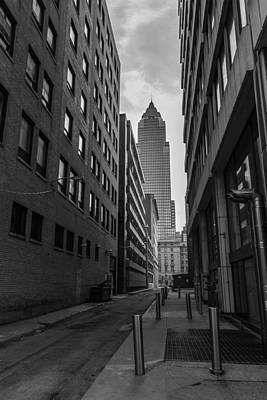 Photograph - Cleveland Alley  by John McGraw