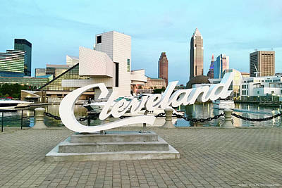 Photograph - Cleveland by Allison Liffman