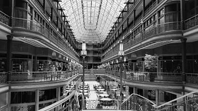 Architecture Photograph - Cleveland Arcade by Ric Schafer