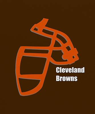 Cleveland Browns Retro Art Print by Joe Hamilton