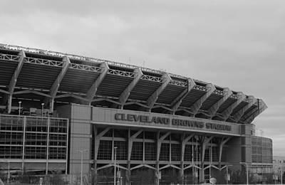 Photograph - Cleveland Browns Stadium by Michiale Schneider