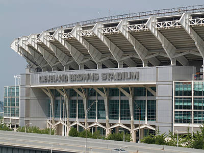 Photograph - Cleveland Browns Stadium by Stewart Helberg