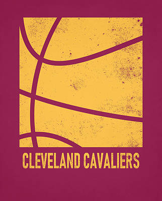Mixed Media - Cleveland Cavaliers City Poster Art 2 by Joe Hamilton