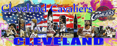 Cleveland Cavaliers Original by Don Kuing