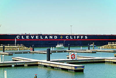 Photograph - Cleveland Cliffs by Robert Meyers-Lussier