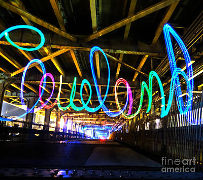 Photograph - Cleveland Glow by Mike Bruckman