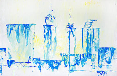 Painting - Cleveland Ink by JoAnn DePolo