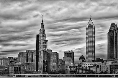 By Jackie Photograph - Cleveland  by Jackie Sajewski