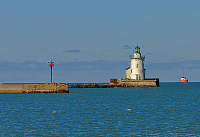 Cleveland Lighthouse Art Print