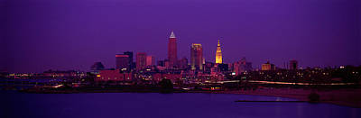 Downtown Cleveland Photograph - Cleveland Oh by Panoramic Images