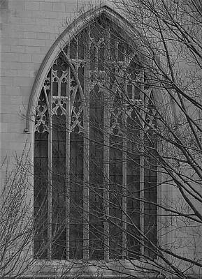 Photograph - Cleveland Ohio Church Window by Amanda Balough
