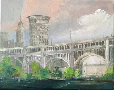 Painting - Cleveland Ohio by Kathleen Harrington