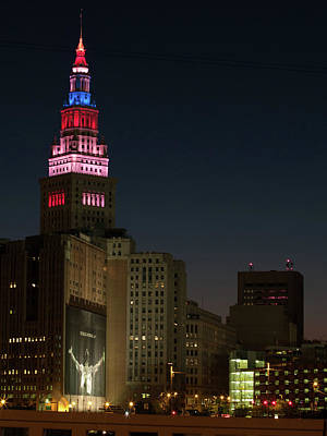 Photograph - Cleveland Ohio by Stewart Helberg