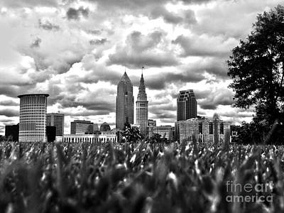 Photograph - Cleveland On The Lawn by Mike Bruckman