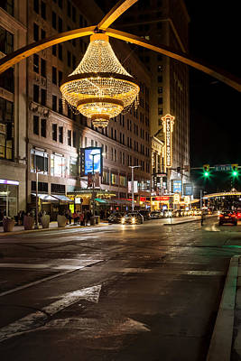 Photograph - Cleveland Playhouse Square by Dale Kincaid