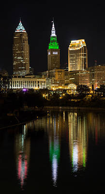 Photograph - Cleveland Reflections by Dale Kincaid