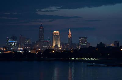 Cleveland Reflections Art Print