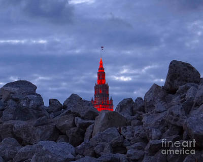 Photograph - Cleveland Rising From The Rubble  by Mike Bruckman