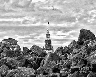 Photograph - Cleveland Rocks by Mike Bruckman