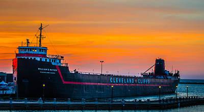 Photograph - Cleveland Sunset by Stewart Helberg