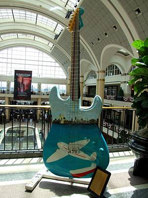 Photograph - Cleveland Tower City Guitar Iv by Michiale Schneider