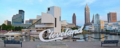 Photograph - Cleveland Updated View by Frozen in Time Fine Art Photography